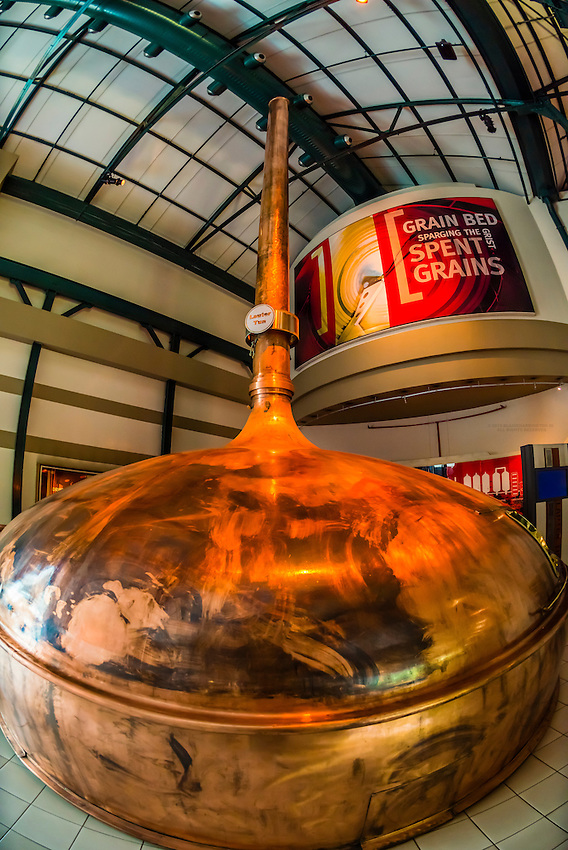 An interactive tour through the history of beer at SAB (South African Breweries) World of Beer, Johannesburg, South Africa. SAB is a subsidiary of SABMiller, the world's second largest brewer. Its brands include Fosters, Grolsch, Miller, Peroni and Pilsner Urquell.