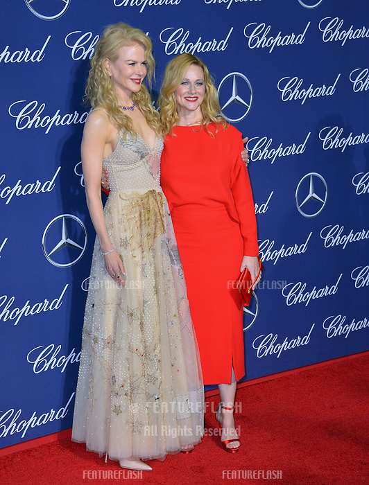 Actresses Nicole Kidman &amp; Laura Linney at the 2017 Palm Springs Film Festival Awards Gala. January 2, 2017<br /> Picture: Paul Smith/Featureflash/SilverHub 0208 004 5359/ 07711 972644 Editors@silverhubmedia.com