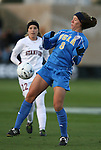 04 December 2009: UCLA's Lauren Cheney. The Stanford University Cardinal defeated the University of California Los Angeles Bruins 2-1 in sudden victory overtime at the Aggie Soccer Complex in College Station, Texas in an NCAA Division I Women's College Cup Semifinal game.