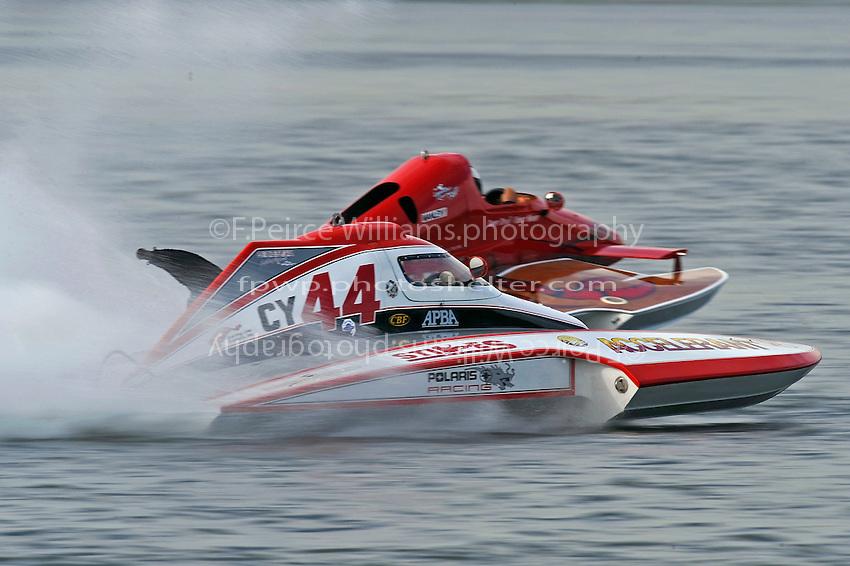 "Joe Sovie, Y-44 and Y-563 Chuck Miller, Jr. ""Lobster Boat""  (1 Litre MOD hydroplane(s)"