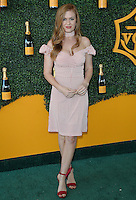 BEVERLY HILLS - OCTOBER 15: Isla Fisher at the 7th Annual Veuve Clicquot Polo Classic at Will Rogers State Historic Park on October 15, 2016 in Pacific Palisades, California. Credit: mpi991/MediaPunch
