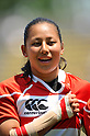 Misaki Suzuki (JPN),.MAY 19, 2012 - Rugby : Woman's Rugby Test match between Japan women's 61-15 Hong Kong women's at Chichibunomiya Rugby Stadium, Tokyo, Japan. (Photo by Jun Tsukida/AFLO SPORT)