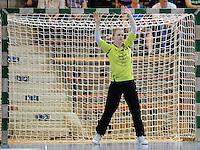 Valentyna Salsmakha (TSV) im Tor