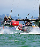 America's Cup 34, Emirates Team New Zealand (NZL) vs Oracle Racing (USA)<br /> 9.10.13 Race 5