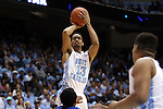 24 October 2014: North Carolina's J.P. Tokoto. The University of North Carolina Tar Heels played the Fayetteville State University Broncos in an NCAA Division I Men's basketball exhibition game at the Dean E. Smith Center in Chapel Hill, North Carolina. UNC won the exhibition 111-58.