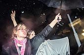 Warsaw 03.10.2016 Poland<br /> Thousands of women all over the country refused to work in protest against changes in abortion law and demonstrate in many polish cities. In the picture: Demonstrants shouting in front of the polish parliament.<br /> Photo: Adam Lach / Napo Images<br /> <br /> Tysiace polek zrezygnowaly z pojscia do pracy w ramach Ogolnopolskiego Strajku Kobiet w zwiazku z projektem ustawy o zaostrzeniu prawa aborcyjnego. W wielu polskich miastach odbyly sie liczne demonstracje.Na zdjeciu: demonstrantki protestujace pod sejmem<br /> Fot: Adam Lach / Napo Images
