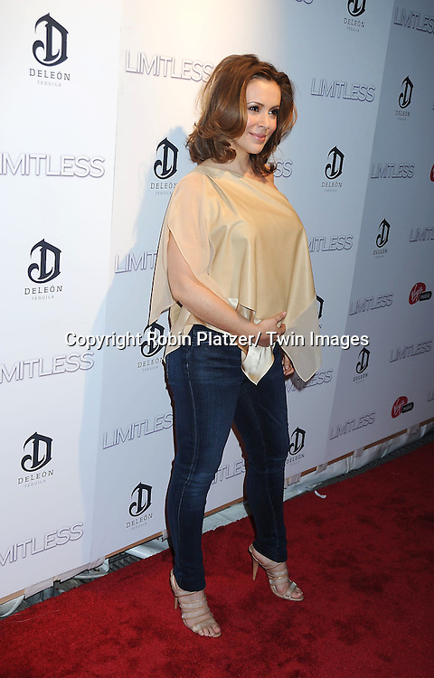 "Alyssa Milano attending The World Premiere of ""Limitless"" .starring Robert De Niro, Bradley Cooper and Abbie Cornish on March 8, 2011 at the .Regal Union Square 14 Theatre in New York City. The premiere was presented  by DELEON Tequila."