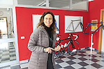 Barbara gives me a guided tour of the Tommasini factory based in Grosseto, Tuscany, Italy 6th March 2017.<br /> Picture: Eoin Clarke | Newsfile<br /> <br /> <br /> All photos usage must carry mandatory copyright credit (&copy; Newsfile | Eoin Clarke)