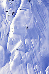 Noah Salasnek on a steep face near Skagway, Alaska.
