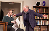 The Father <br /> by Florian Zeller <br /> directed by Christopher MacDonald <br /> at Wyndham's Theatre, London, Great Britain <br /> press photocall <br /> 2nd October 2015 <br /> Jim Sturgeon as Man <br /> Kenneth Cranham as Andre <br /> <br /> Photograph by Elliott Franks <br /> Image licensed to Elliott Franks Photography Services