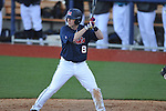 Ole Miss' Austin Anderson (8) vs. North Carolina-Wilmington at Oxford-University Stadium in Oxford, Miss. on Friday, February 24, 2012. Ole Miss won 2-0.