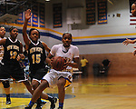 Oxford High's Erika Sisk (3) vs. New Hope at Oxford High School in high school girls basketball action Oxford, Miss. on Friday, January 6, 2012.