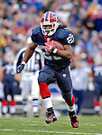4 November 2007: Buffalo Bills running back Marshawn Lynch in action against the Cincinnati Bengals at Ralph Wilson Stadium in Orchard Park, NY. Lynch had a career-best 153 yards rushing, including a 56-yard touchdown run in the final minutes of the game. The Bills defeated the Bengals 33-21 in front of a sellout crowd of 70,745...Mandatory Photo Credit: Ed Wolfstein Photo