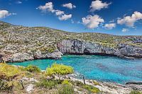 Porto Limnionas in Zakynthos island, Greece