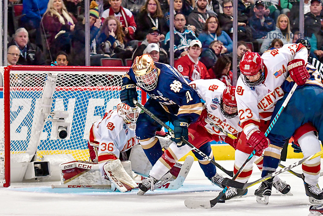 April 6, 2017; Frozen Four at the United Center in Chicago, IL. (Photo by Matt Cashore/University of Notre Dame)