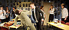 A Level Playing Field <br /> by Jonathan Lewis <br /> at the Jermyn Street Theatre<br /> London, Great Britain <br /> 13th April 2015 <br /> Press photocell <br /> <br /> Abe Lewis<br /> <br /> Joe Layton  (Mr Preston)