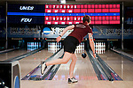 14 APR 2012: Maria Paula Vilas (05) of the University of Maryland Eastern Shore watches her throw during the Division I Womens Bowling Championship held at Freeway Lanes in Wickliffe, OH.  The University of Maryland Eastern Shore defeated Fairleigh Dickinson 4-2 to win the national title.  Jason Miller/NCAA Photos