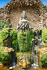 The fountain of Aphrodite of Ephesus, Villa d'Este gardens, Tivoli