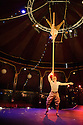 London, UK. 19.05.2015. Scotch & Soda bring their mix of circus, dance and original music to London for the first time from 14th May to 2nd August 2015, in the London Wonderground's Spiegeltent. Photograph © Jane Hobson.