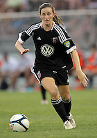 BOYDS, MARYLAND-JULY 07,2012:  Andi Sullivan (24) of DC United Women moves forward against the Dayton Dutch Lions during a W League game at Maryland Soccerplex, in Boyds, Maryland. DC United women won 4-1.