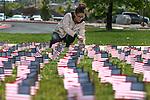 WNC Suicide Awareness flag planting 2016