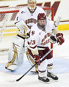 John Muse (BC - 1), Patrick Brown (BC - 23) - The Boston College Eagles defeated the visiting University of Vermont Catamounts 6-0 on Sunday, November 28, 2010, at Conte Forum in Chestnut Hill, Massachusetts.