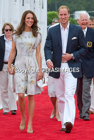 """PRINCE WILLIAM & KATE - CALIFORNIA, USA.attend the Foundation Polo Challenge at the Santa Barbara Polo & Racquet Club, Santa Barbara, California. Prince William participated in the polo match_09/07/2011.Mandatory Credit Photo: ©Francis Dias-DIASIMAGES. .**ALL FEES PAYABLE TO: """"NEWSPIX INTERNATIONAL""""**..IMMEDIATE CONFIRMATION OF USAGE REQUIRED:.DiasImages, 31a Chinnery Hill, Bishop's Stortford, ENGLAND CM23 3PS.Tel:+441279 324672  ; Fax: +441279656877.Mobile:  07775681153.e-mail: info@newspixinternational.co.uk"""