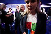 WARSAW, POLAND, JUNE 13, 2010:.Jaroslaw Kaczynski..Debate between the presidential candidates in a Polish TV..(Photo by Piotr Malecki / Napo Images)..WARSZAWA, 12/06/2010:.Jaroslaw Kaczynski. Debata miedzy kandydatami w TVP 1.Fot: Piotr Malecki / Napo Images.