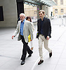 Jeremy Corbyn <br /> Leader of the Labour Party <br /> arriving at the Andrew Marr Show at the BBC, London, Great Britain <br /> 10th July 2016 <br /> <br /> accompanied by Seumas Milne the Labour Party's Executive Director of Strategy and Communications<br /> <br /> <br /> Photograph by Elliott Franks <br /> Image licensed to Elliott Franks Photography Services