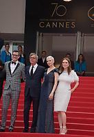 Todd Haynes, Brian Selznick, Michelle Williams &amp; Julianne Moore at the premiere for &quot;Wonderstruck&quot; at the 70th Festival de Cannes, Cannes, France. 18 May 2017<br /> Picture: Paul Smith/Featureflash/SilverHub 0208 004 5359 sales@silverhubmedia.com