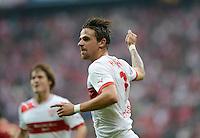 FUSSBALL   1. BUNDESLIGA  SAISON 2012/2013   2. Spieltag  02.09.2012 FC Bayern Muenchen - VfB Stuttgart       JUBEL Martin Harnik (VfB Stuttgart) nach seinem Tor zum 0-1