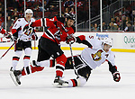 January 4, 2009: Ottawa Senators at New Jersey Devils