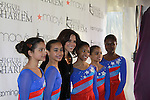 Soledad O'Brien and skaters at the 2012 Skating with the Stars - a benefit gala for Figure Skating in Harlem celebrating 15 years on April 2, 2012 at Central Park's Wollman Rink, New York City, New York.  (Photo by Sue Coflin/Max Photos)