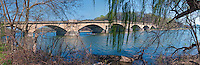 Schuylkill River, Fairmount Park, Bridge, Philadelphia, Pennsylvania, Panorama