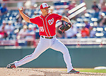 7 March 2016: Washington Nationals pitcher Jonathan Papelbon on the mound to close out the Spring Training pre-season game against the Miami Marlins at Space Coast Stadium in Viera, Florida. The Nationals defeated the Marlins 7-4 in Grapefruit League play. Mandatory Credit: Ed Wolfstein Photo *** RAW (NEF) Image File Available ***