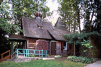 Castlegar, BC, British Columbia, Canada - Historic Russian Orthodox Chapel House on Zuckerberg Island