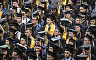 May 21, 2017; College of Arts and Letters diploma ceremony, Commencement 2017. (Photo by Barbara Johnston/University of Notre Dame)