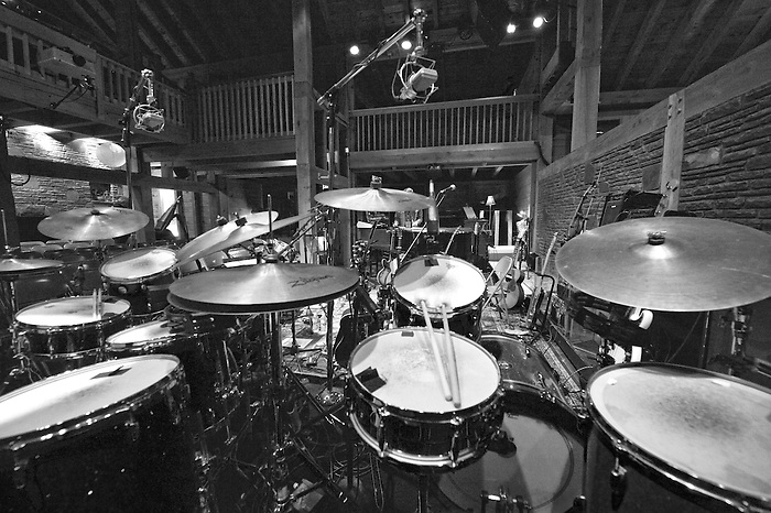 "Levon Helm's Barn, home and venue for The Band's drummer located in Woodstock, New York. If you have ever had the chance to see a show ( The Midnight Ramble ) with Levon and the Dirt Farmer Band , you know what a special and magical place and experience it is. This is a custom printed archival 8.5 x 11 or ""17 X ""22 inch black and white photograph."