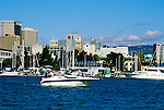 California: The Oakland Waterfront at Jack London Square..Photo copyright Lee Foster, 510/549-2202, lee@fostertravel.com, www.fostertravel.com..Photo #: cadayt103