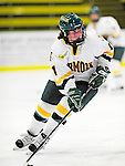 30 October 2009: University of Vermont Catamount forward Emily Walsh, a Freshman from Suffield, CT, in action against the Northeastern University Huskies at Gutterson Fieldhouse in Burlington, Vermont. The Catamounts were shut out by the visiting Huskies 3-0. Mandatory Credit: Ed Wolfstein Photo