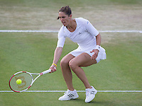 ANDREA PETKOVIC (GER)<br /> <br /> The Championships Wimbledon 2014 - The All England Lawn Tennis Club -  London - UK -  ATP - ITF - WTA-2014  - Grand Slam - Great Britain -  28th June 2014. <br /> <br /> &copy; AMN IMAGES