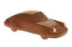 Chocolate Porsche 911 Sports Car