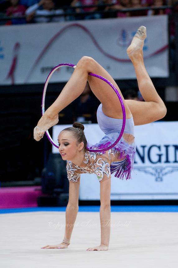 September 11, 2015 - Stuttgart, Germany - MARINA DURUNDA of Azerbaijan performs during AA final at 2015 World Championships.