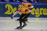SCHAATSEN: HEERENVEEN: 16-01-2016 IJsstadion Thialf, Trainingswedstrijd Topsport, Melissa Wijlfje ©foto Martin de Jong
