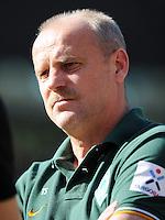 FUSSBALL   1. BUNDESLIGA   SAISON 2011/2012    8. SPIELTAG Hannover 96 - SV Werder Bremen                             02.10.2011 Trainer Thomas SCHAAF (Werder Bremen)