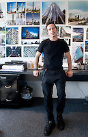 Michel Rojkind in his offices in the Condesa neighbourhood of Mexico City.