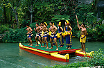 Hawaii: Oahu, Polynesian Cultural Center. Photo:hihono103.Photo copyright Lee Foster, 510/549-2202, lee@fostertravel.com, www.fostertravel.com