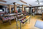 Photo shows the interior of Tanaka-ya, a store specializing in locally made Tsugaru lacquerware  in Hirosaki, Japan on 18 Jan. 2013. Photo: Robert Gilhooly..