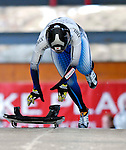 15 December 2006: Eiko Nakayama from Japan, starts her run at the FIBT Women's World Cup Skeleton Competition at the Olympic Sports Complex on Mount Van Hoevenburg  in Lake Placid, New York, USA. &amp;#xA;&amp;#xA;Mandatory Photo credit: Ed Wolfstein Photo<br />