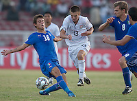 Dominick Sarle. Italy defeated the US Under-17 Men's National Team 2-1 in Kaduna, Nigera on November 4th, 2009.